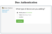 Duo authentication device question image