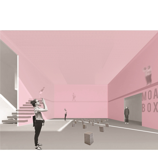 Museum of Object Art interior space rendering