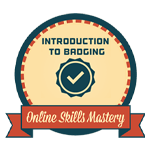 Online Skills Mastery - Introduction To Badging