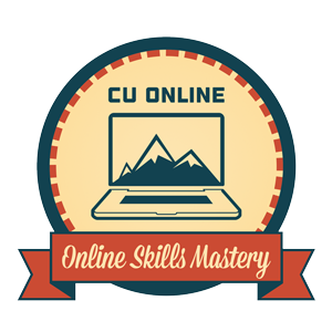 CU Online - Online Skills Mastery -  Core Course
