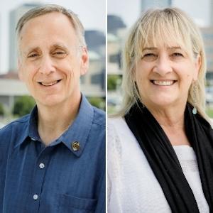 Scott Bauer and Barbara Seidl