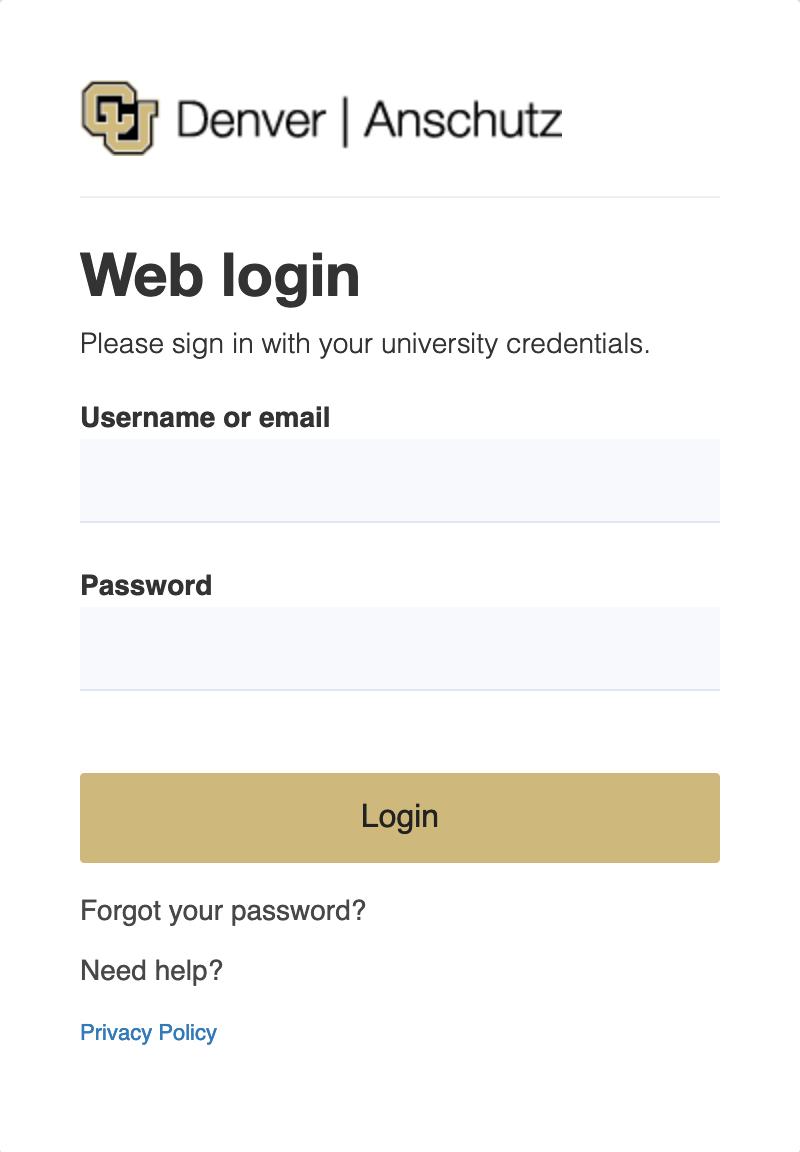 UCDAccess Student Portal Login Page