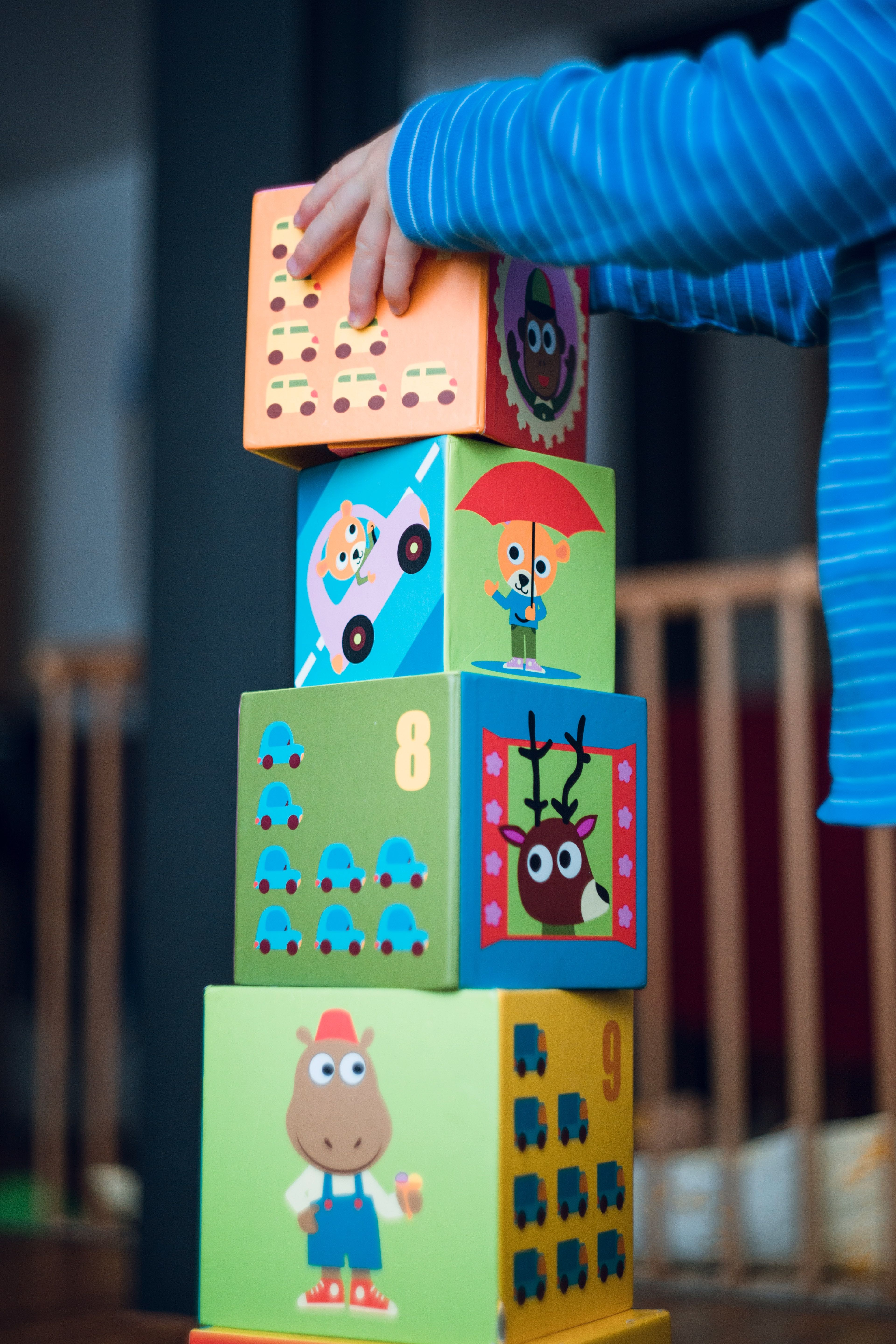 Child Stacking Tower