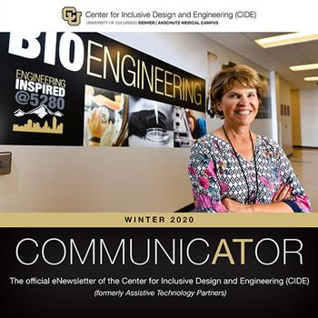 Dr. Cathy Bodine in the Bioengineering building