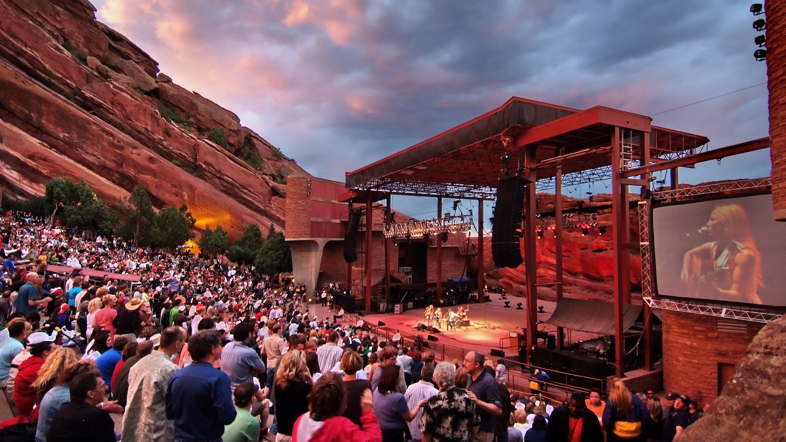 Concert at Red Rocks Park and Amphitheatre